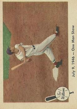 1959 Fleer Ted Williams #27 7/9/46 One Man Show