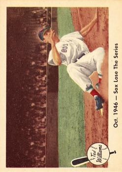 1959 Fleer Ted Williams #31 Sox Lose Series