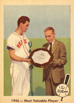 1959 Fleer Ted Williams #32 Most Valuable Player