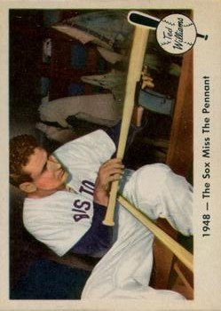 1959 Fleer Ted Williams #35 Sox Miss Pennant