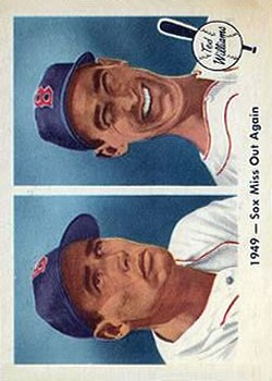 1959 Fleer Ted Williams #37 1949 Sox Miss Again