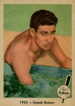 1959 Fleer Ted Williams #49 Smash Return