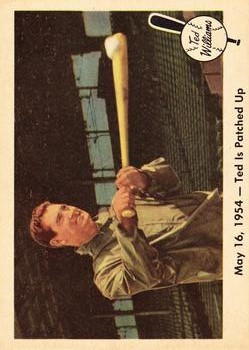 1959 Fleer Ted Williams #51 Ted is Patched Up