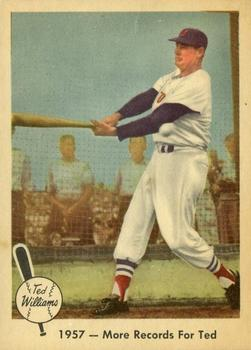 1959 Fleer Ted Williams #60 More Records for Ted