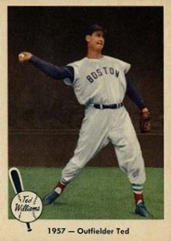1959 Fleer Ted Williams #61 1957 Outfielder Ted
