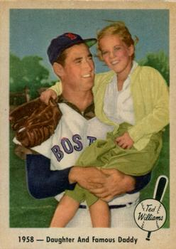 1959 Fleer Ted Williams #64 Daughter and Daddy