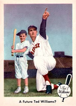 1959 Fleer Ted Williams #69 A Future Ted Williams