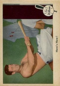 1959 Fleer Ted Williams #74 Here's How