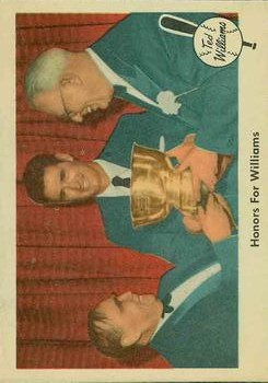1959 Fleer Ted Williams #78 Honors for Williams