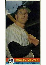 1959 Bazooka #14 Mickey Mantle