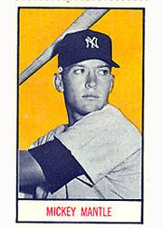 1959 Oklahoma Today Major Leaguers #12 Mickey Mantle