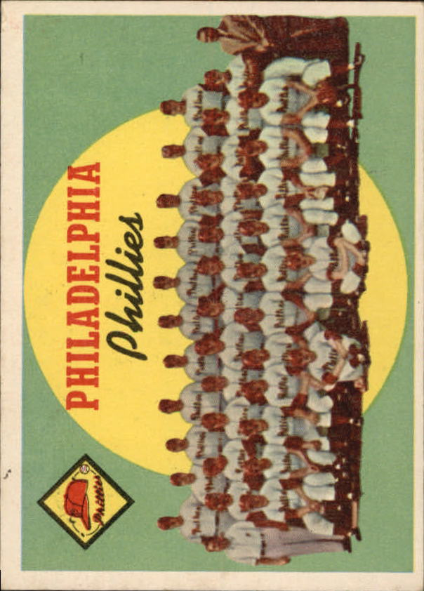 1959 Topps #8 Philadelphia Phillies CL