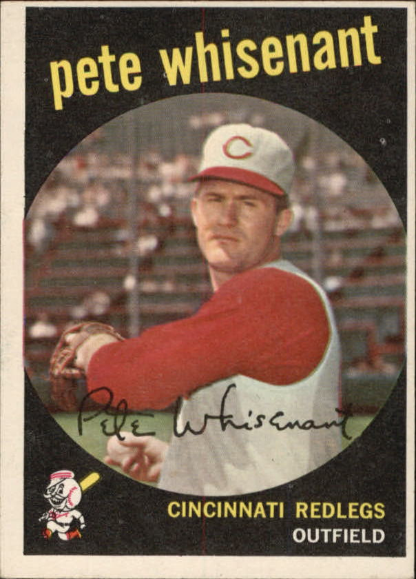 1959 Topps #14 Pete Whisenant