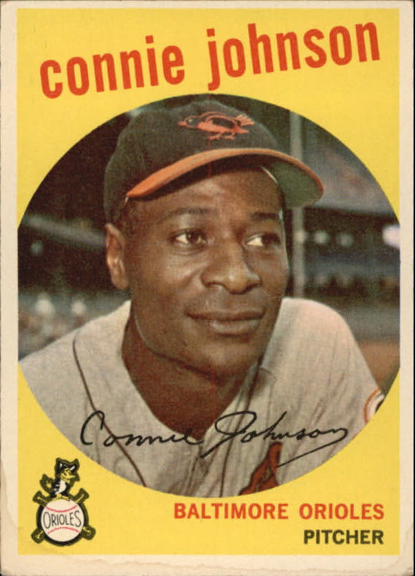 1959 Topps #21 Connie Johnson