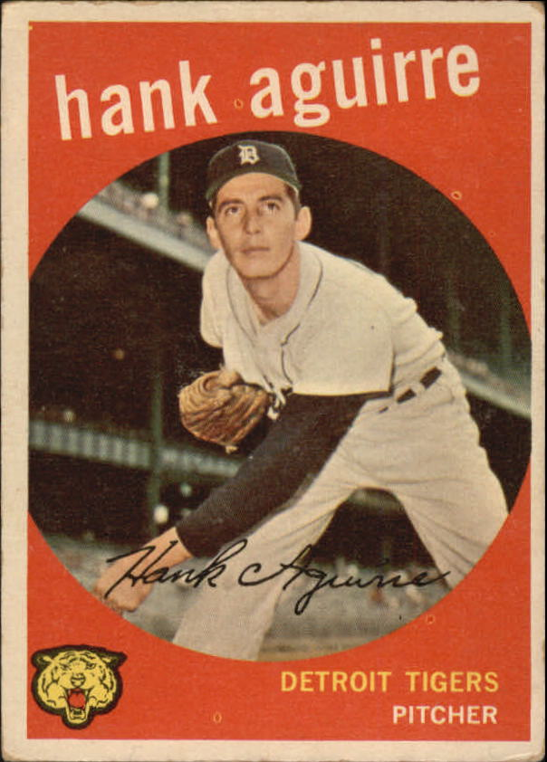 1959 Topps #36 Hank Aguirre