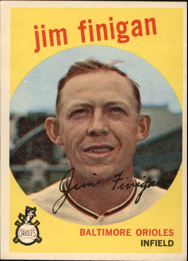 1959 Topps #47 Jim Finigan