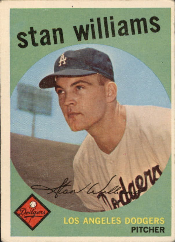 1959 Topps #53 Stan Williams RC