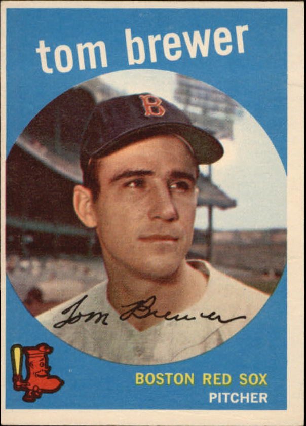 1959 Topps #55 Tom Brewer