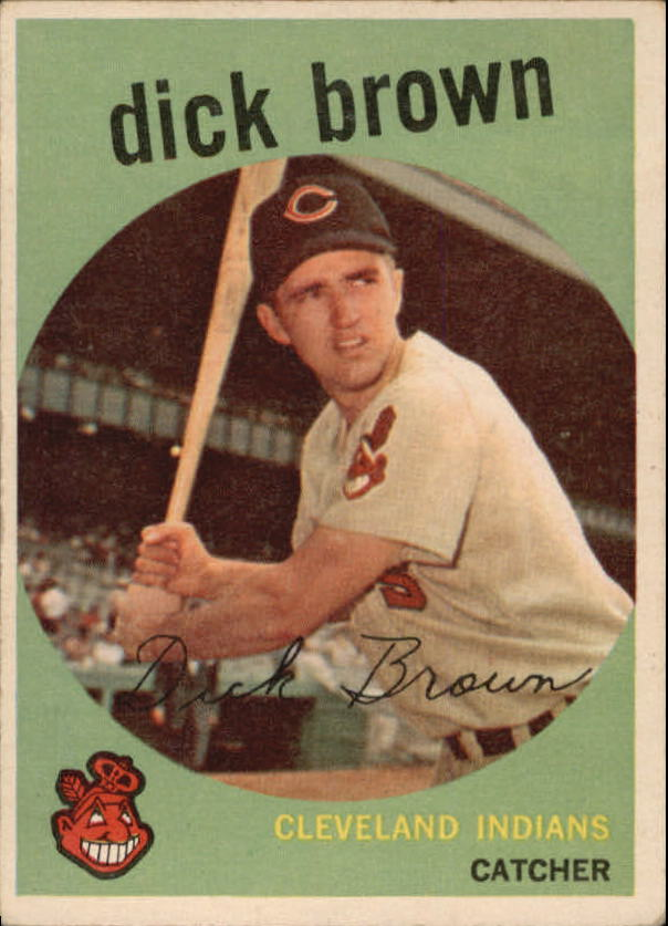 1959 Topps #61 Dick Brown