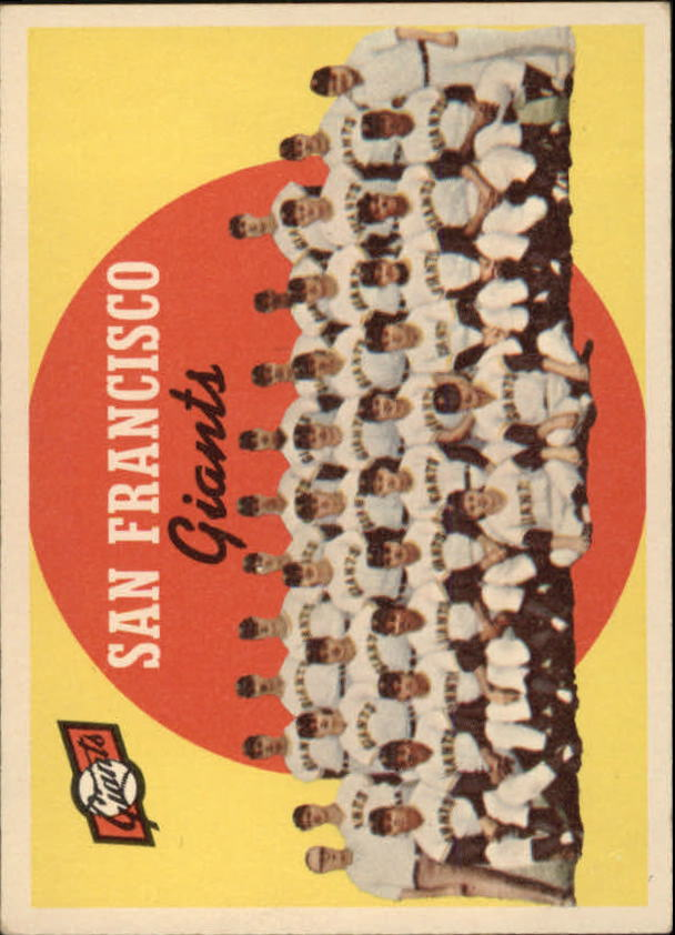 1959 Topps #69 San Francisco Giants CL