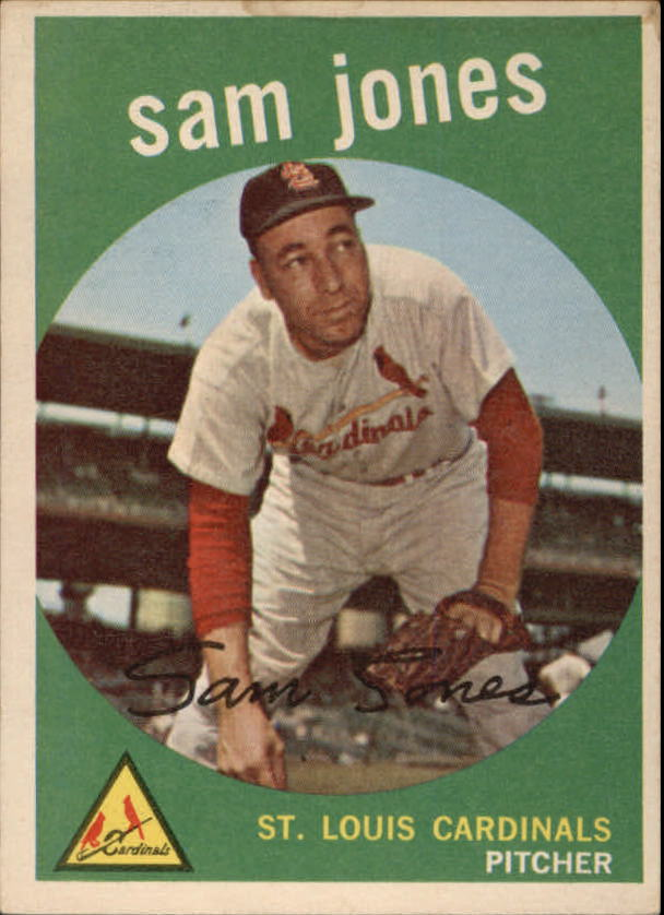 1959 Topps #75 Sam Jones front image