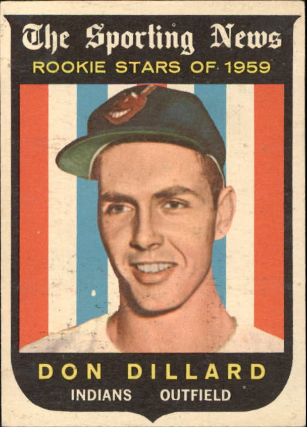 1959 Topps #123 Don Dillard RS RC