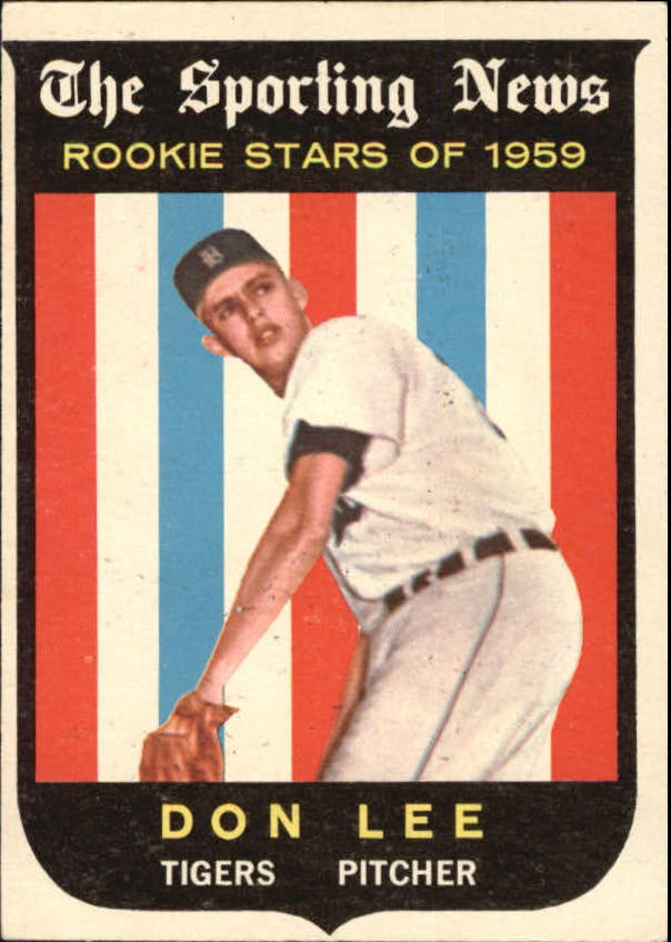 1959 Topps #132 Don Lee RS