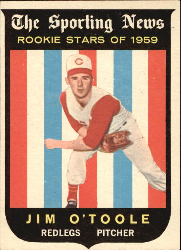 1959 Topps #136 Jim O'Toole RS RC