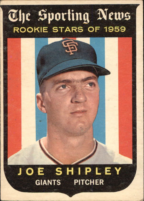 1959 Topps #141 Joe Shipley RS RC