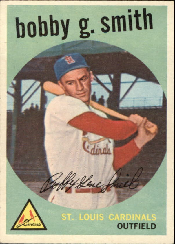 1959 Topps #162 Bobby G. Smith