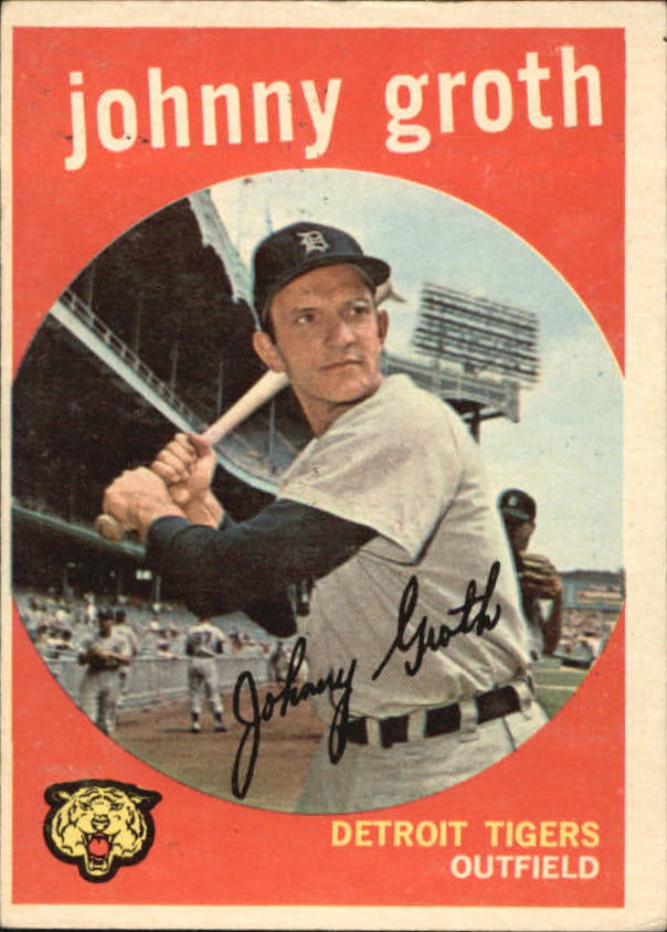 1959 Topps #164 Johnny Groth front image