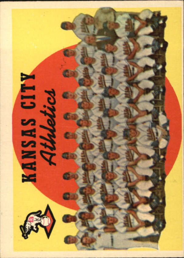 1959 Topps #172 Kansas City Athletics CL