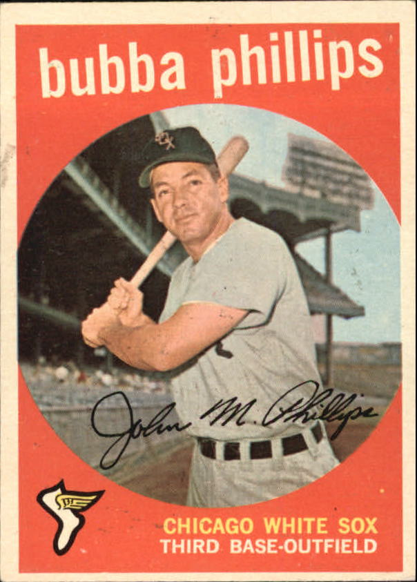 1959 Topps #187 Bubba Phillips