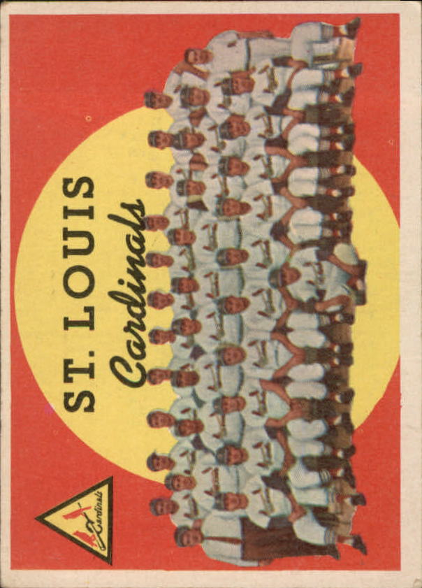 1959 Topps #223 St. Louis Cardinals CL