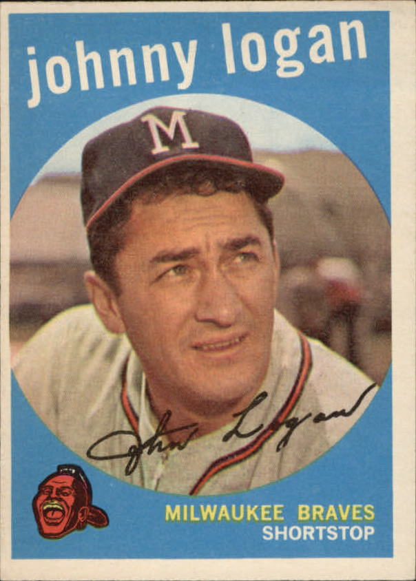 1959 Topps #225 Johnny Logan