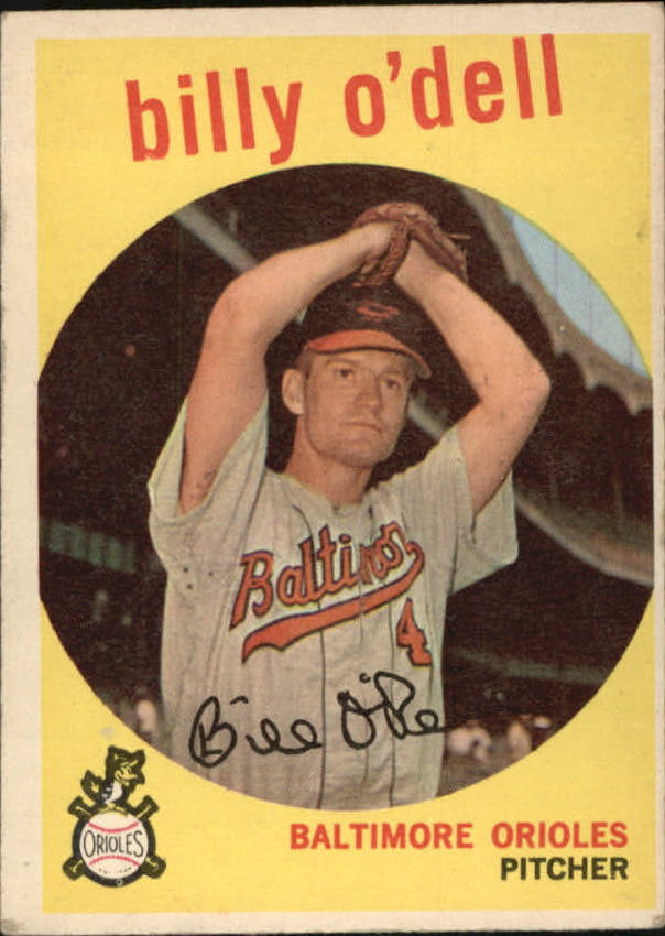 1959 Topps #250 Billy O'Dell