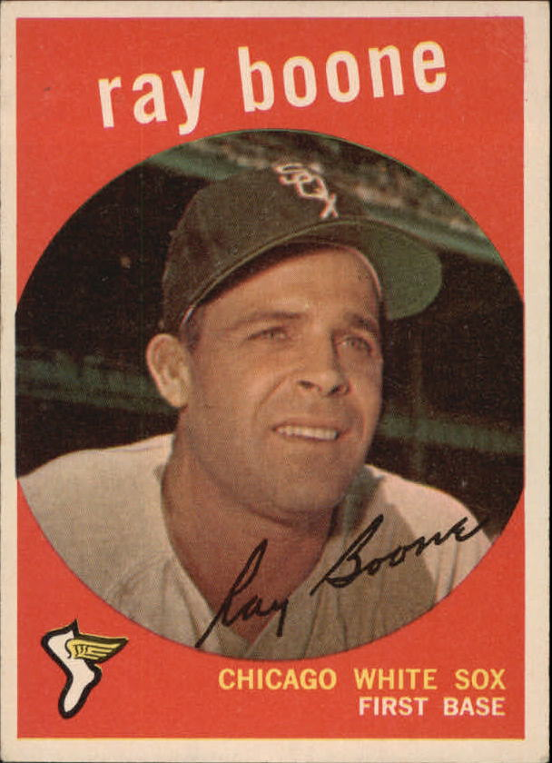 1959 Topps #252 Ray Boone