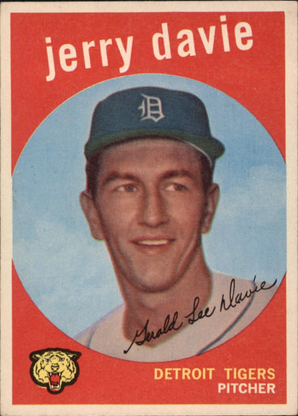 1959 Topps #256 Jerry Davie RC