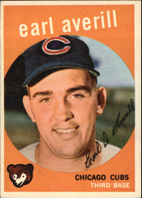 1959 Topps #301 Earl Averill Jr. RC