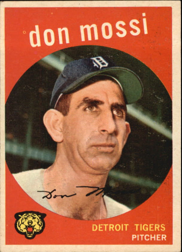 1959 Topps #302 Don Mossi