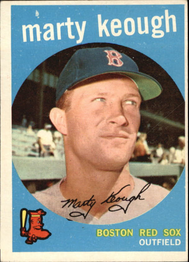 1959 Topps #303 Marty Keough