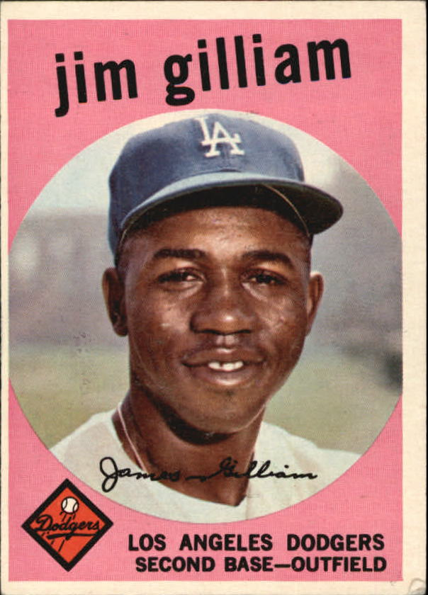 1959 Topps #306 Jim Gilliam