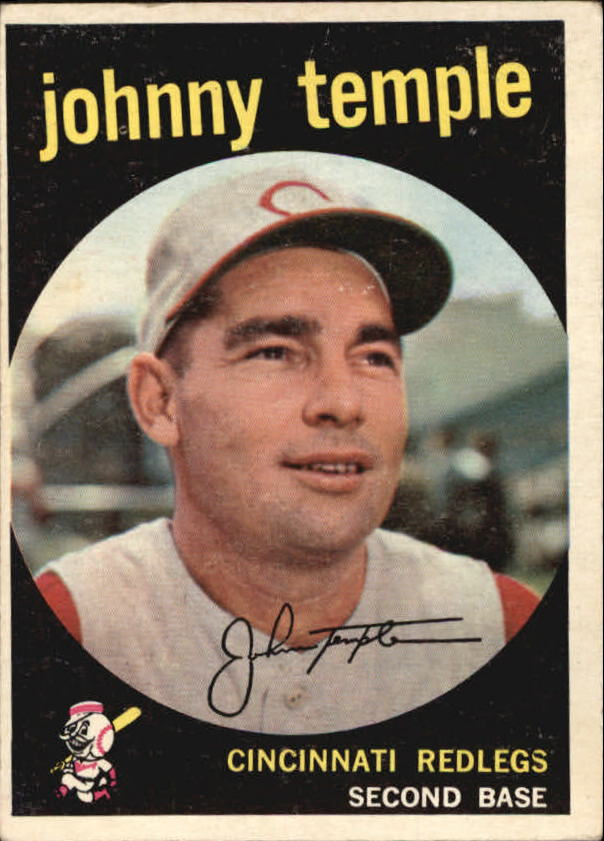 1959 Topps #335 Johnny Temple