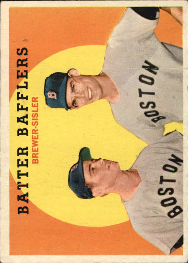 1959 Topps #346 Batter Bafflers/Dave Sisler/Tom Brewer