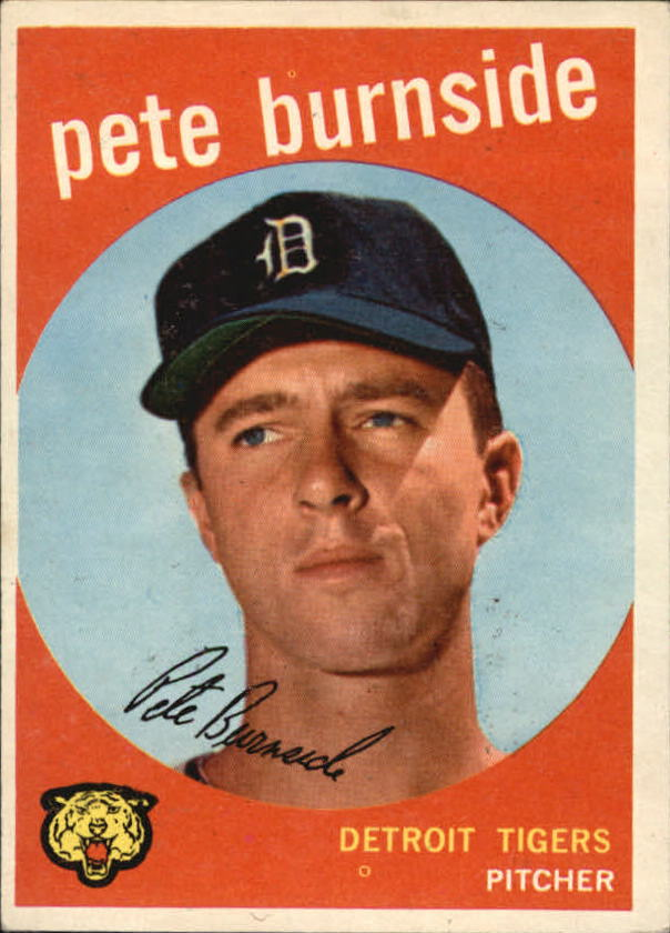 1959 Topps #354 Pete Burnside