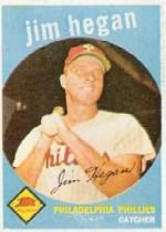 1959 Topps #372 Jim Hegan