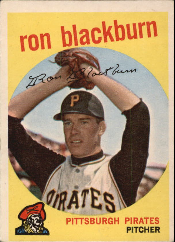 1959 Topps #401 Ron Blackburn