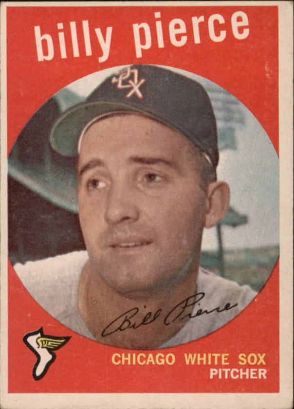 1959 Topps #410 Billy Pierce
