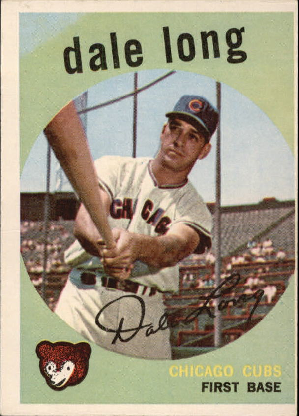 1959 Topps #414 Dale Long