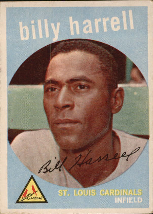 1959 Topps #433 Billy Harrell